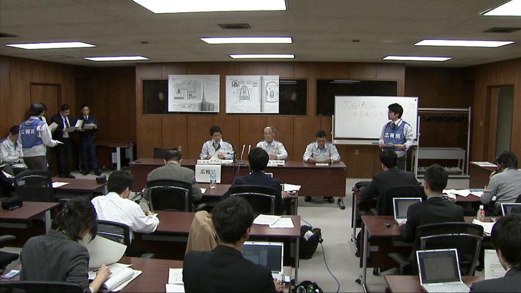 原子力安全・保安院記者会見20110311
